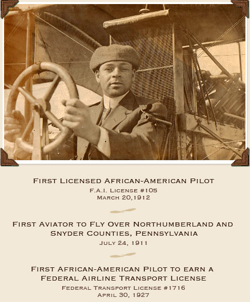 First Licensed African-American Pilot